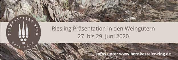 Riesling Präsentation 2020 | Bernkasteler Ring